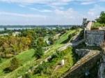 Kalemegdan wzgórze i mury - belgrad w jeden dzień