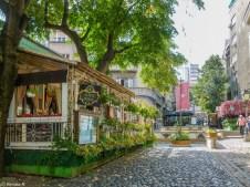ulica Skadarska serbia - belgrad w jeden dzień