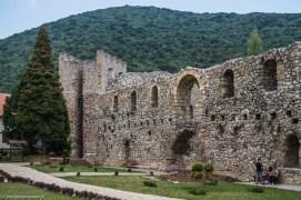 Despotovac Klasztor Manasija mury obronne - belgrad w jeden dzień