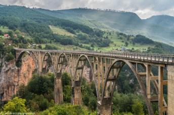 Most Durdevica - góry durmitor