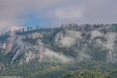 Kanion rzeki Tary widok czarnogóra