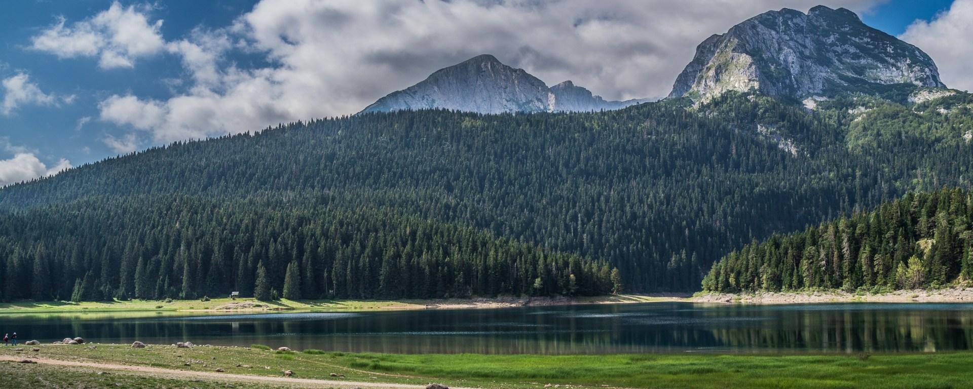 czarny staw czarnogóra - góry durmitor