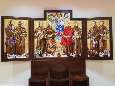 Kościół Franciszkanów krzesła szkodra