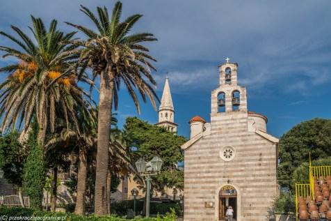 Budva cerkiew św. Trójcy - jeden dzień w czarnogórze
