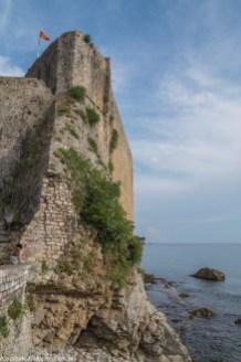 Budva - mury miejskie
