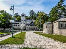 Klasztor w Cetynii