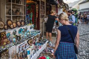 kramy bazar pamiątki mostar - z dubrownika do mostaru