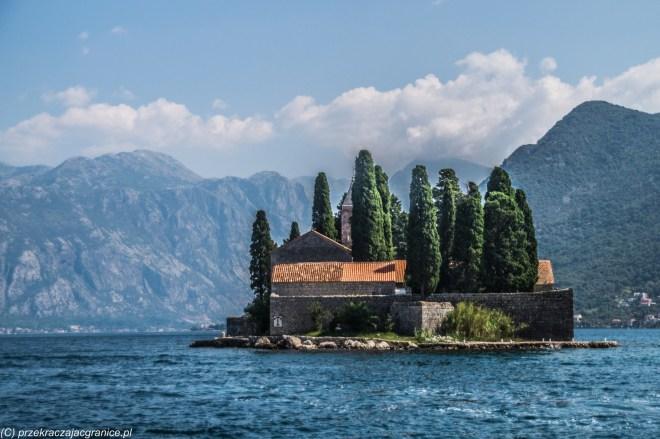 klasztor św. Jerzego wyspa - zwiedzanie kotoru