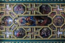 Kościół Matki Bożej na Skale sufit czarnogóra
