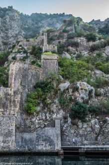 mury obronne przyroda kotor