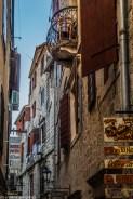 wąskie uliczki - zwiedzanie kotoru
