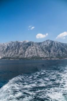 Zatoka Kotorska góry czarnogóra