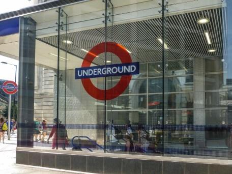 londyn stacja metra