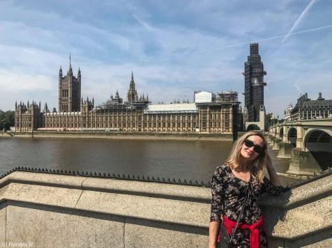 londyn big ben - spacer wzdłuż tamizy