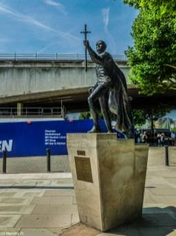 rzeźba Laurence Olivier londyn