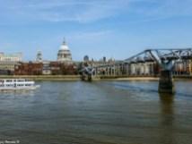 Millennium Bridge londyn