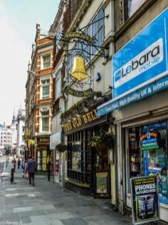 Londyn - kolejny pub angielski