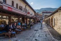 Ulice miejskie w sarajewie