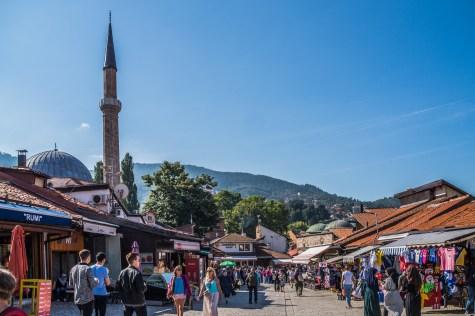 Bascarsija sarajewo bośnia i hercegowina