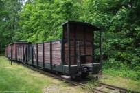 Stutthof - wagon do przewozu ludzi i zapasów