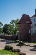 frombork - braniewo mury miejskie