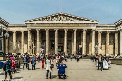 Londyn - British Museum - wejście główne