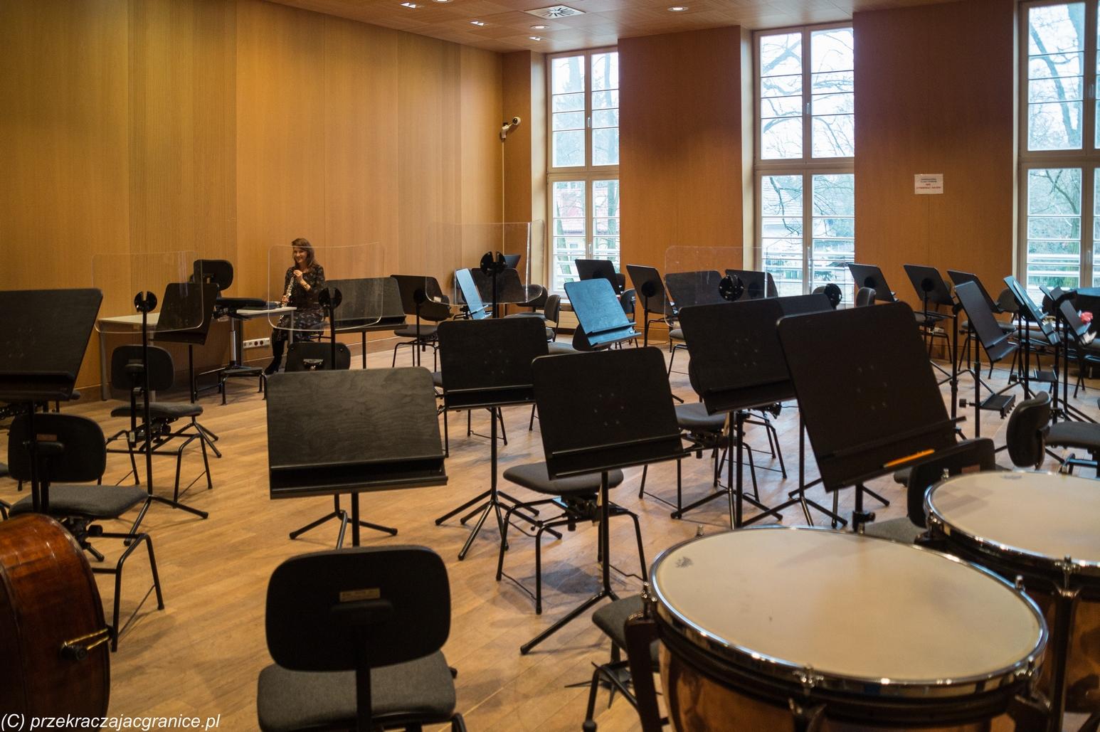 Sala prób orkiestry - mazowsze