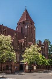 warmia - orneta kościół św jana chrzciciela