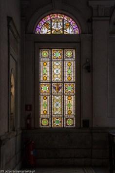 palermo - palazzo trenitalia witraż