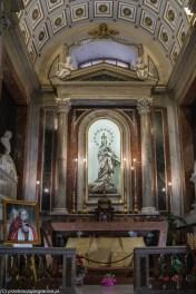 Palermo - wnętrza Katedry