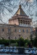 palermo - pałac normanów wieża