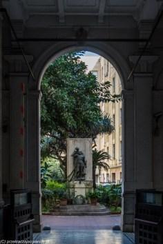 palermo - palazzo trenitalia pomnik