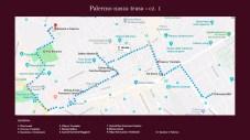 palermo - mapa trasa spaceru
