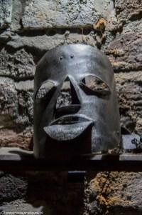 warmia - reszel maska hańby zamek