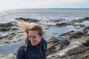 Sycylia - na wybrzeżu nieźle wiało
