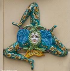 Sycylia - ozdoba z trinakrią