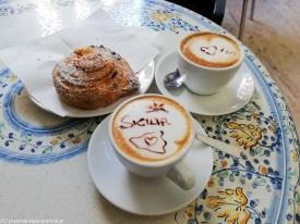 Sycylia - cappuccino na śniadanie