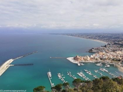monreale - Castellammare del Golfo zatoka panorama