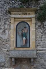 monreale - erice kapliczka na murze