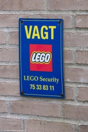 Billund - LEGO Security czuwa