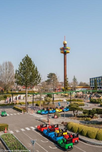 Legoland - panorama na wieżę widokową
