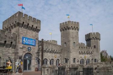 zamek Knights Kingdom legoland