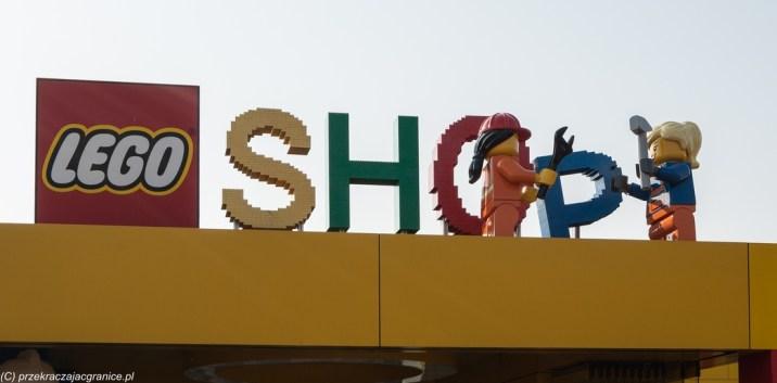 Sklep LEGO w Legolandzie billund