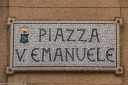Monreale - czy nazwy ulic można pięknie przedstawiać?
