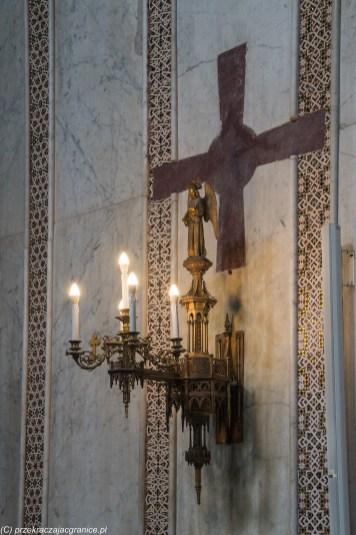 Monreale - Katedra oświetlenie boczne