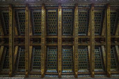 Monreale - drewniany sufit w Katedrze