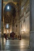 Monreale - Katedra, nawa z sarkofagami władców Normandzkich