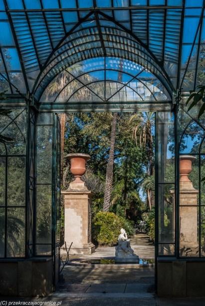Palermo - widok z Palmiarni