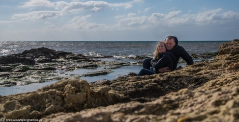 saliny - marsala wybrzeże sycylia para
