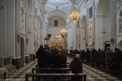 Trapani - wnętrze kościoła